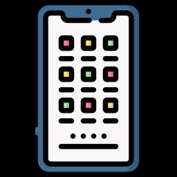 Как мне организовать значки на домашней странице моего Samsung Galaxy S7?