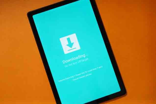 Войдите в режим загрузки и восстановления на Samsung Galaxy Tab A7 10.4 2020