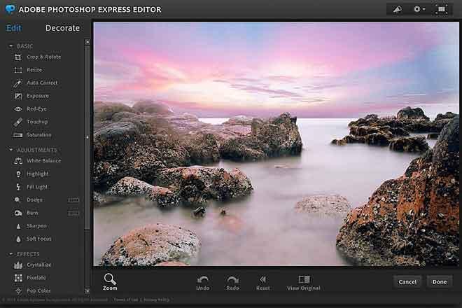 Полное руководство по Photoshop Express