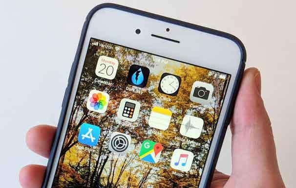 Как сменить обои на iPhone