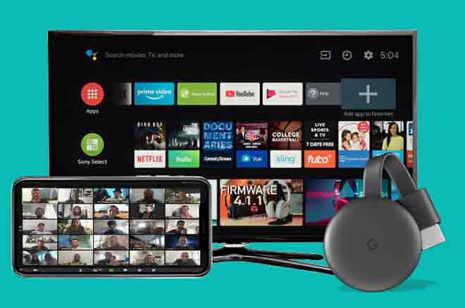 Как транслировать Zoom на Chromecast