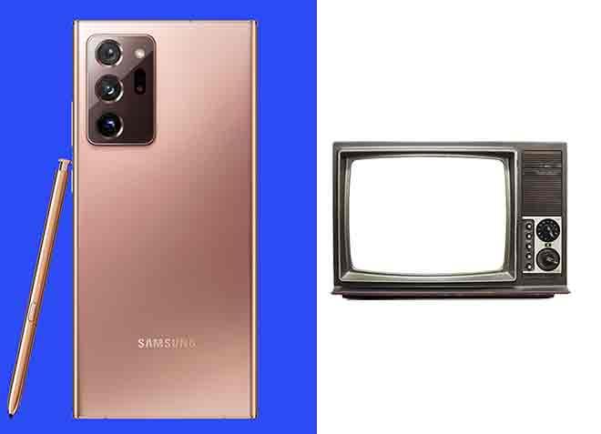 Как подключить Samsung Galaxy Note 20 Ultra к телевизору, монитору или проектору