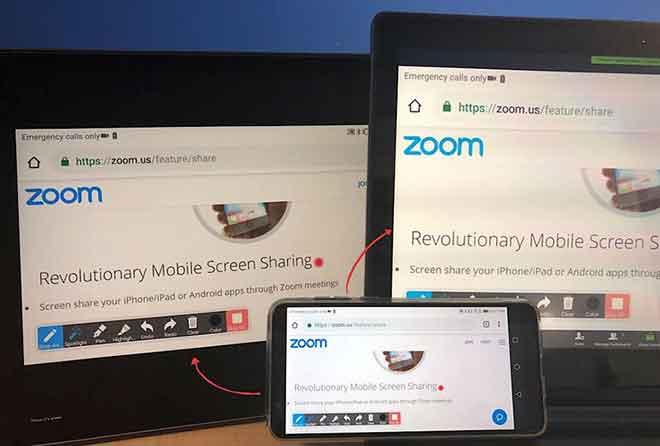 Как изменить имя в Zoom на мобильном устройстве, iPad и ПК