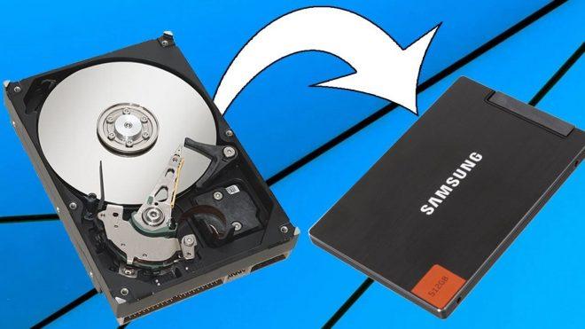 Как клонировать жесткий диск на SSD