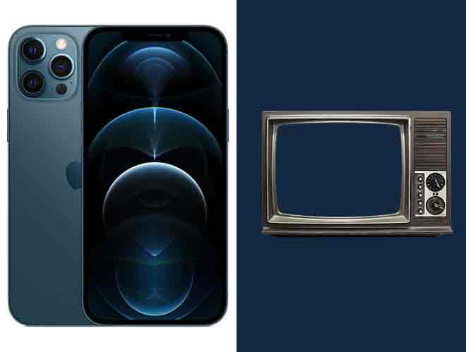 Как подключить iPhone 12 Pro / 12 Pro Max к телевизору, монитору или проектору