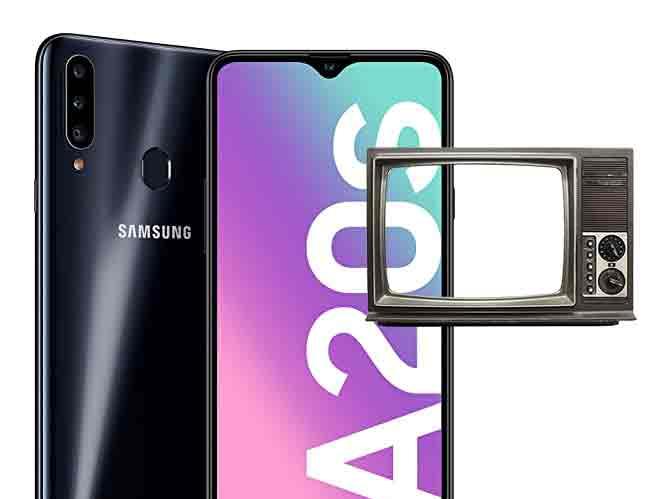 Как подключить Samsung Galaxy A20s к телевизору