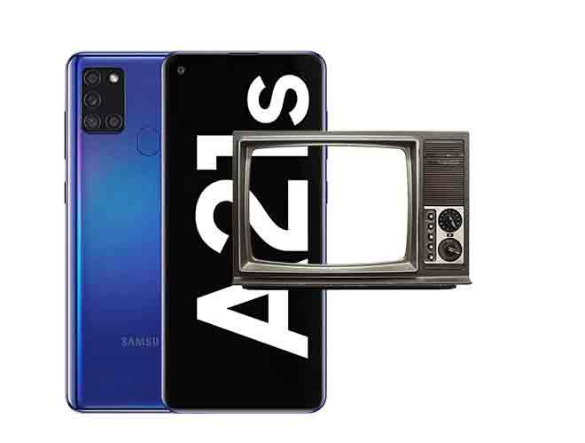 Как подключить Samsung Galaxy A21s к телевизору