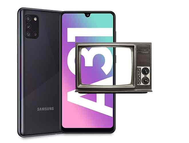 Как подключить Samsung Galaxy A31 к телевизору