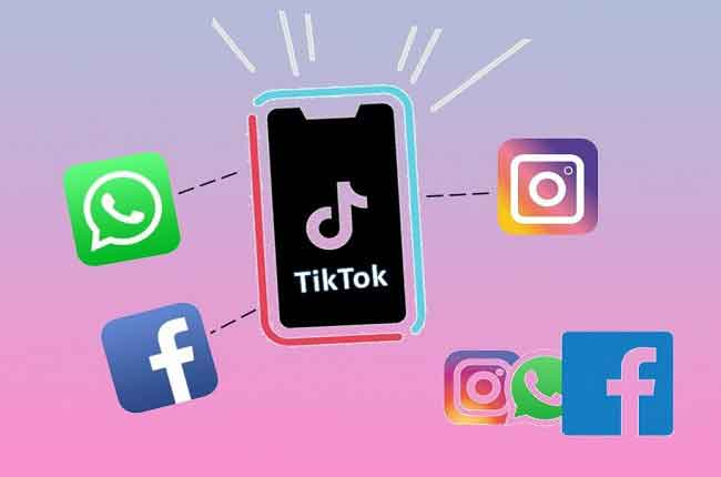 Как поделиться видео TikTok на Facebook