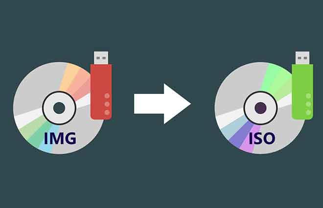 Как конвертировать файлы IMG в ISO