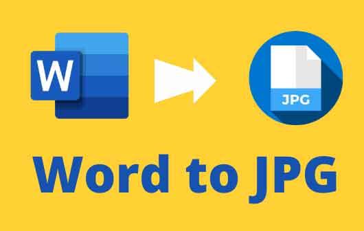 Как преобразовать документ Word в изображение JPG или GIF