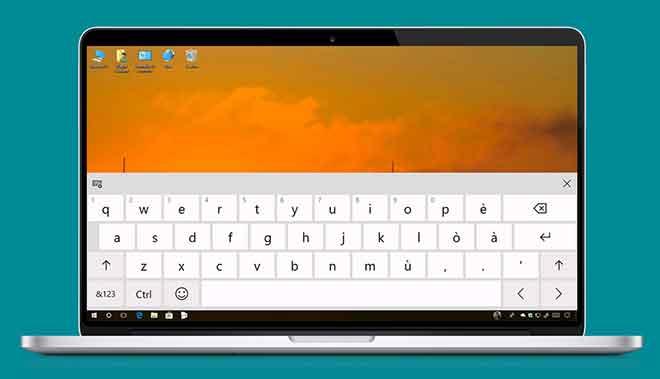 Как отключить экранную клавиатуру в Windows 10