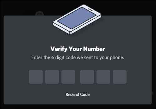 Как отключить номер телефона от Discord