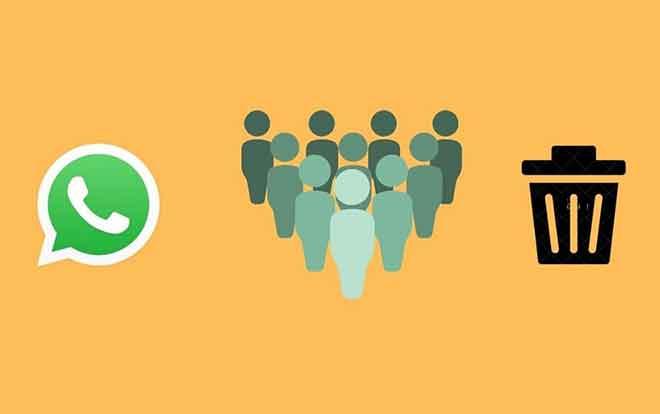 Как навсегда удалить группу WhatsApp