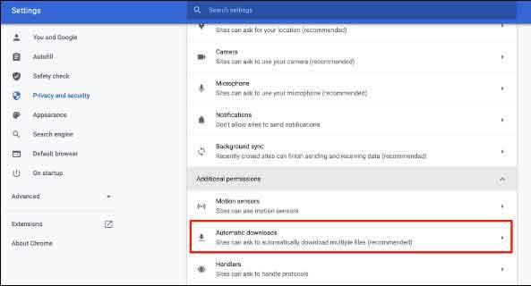 Как запретить Google Chrome блокировать загрузки