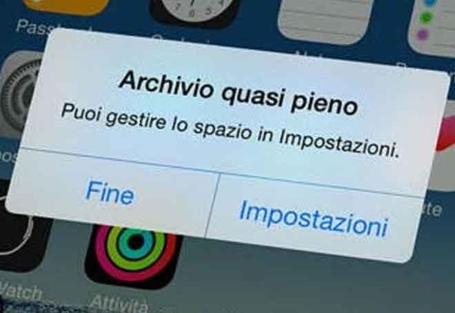 Память iPad заполнена: как освободить место на iPad