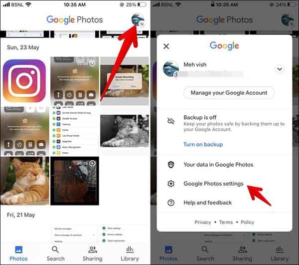 Как сделать приложение Google Фото по умолчанию на iPhone