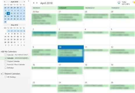 Как синхронизировать Календарь Google с Outlook