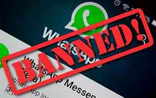Что делать, если WhatsApp приостанавливает действие вашей учетной записи
