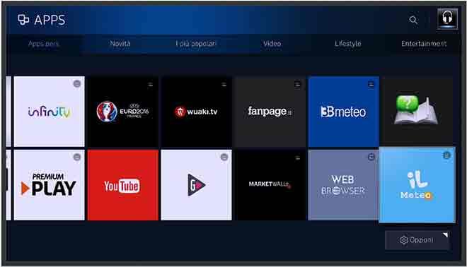 Как удалить приложения на Samsung Smart TV