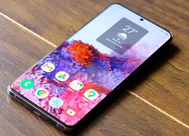 Скачать обои нового Samsung Galaxy S20 FE