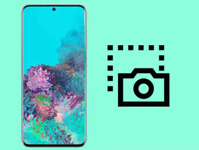 Приходите снимок экрана с Samsung Galaxy S21, S21 +, S20 Ultra