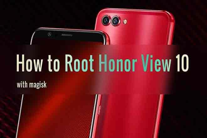 Установите TWRP Recovery и Root Honor View 10 (Android 10)