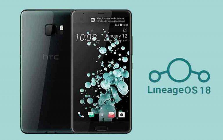 Загрузите и установите Lineage OS 18 на HTC U Ultra (Android 11)
