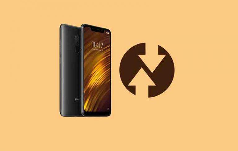 Установите TWRP recovery и Root Xiaomi Poco F1
