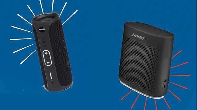 JBL Flip 5 против Bose Soundlink Color 2: какую портативную Bluetooth-колонку выбрать