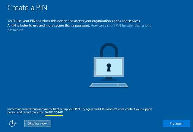 12 решений, когда ваш PIN-код в Windows 10 не работает