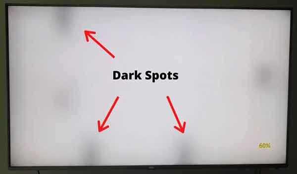 Черные точки на экране телевизора, причины и как исправить