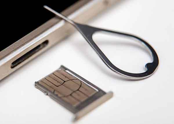 Как удалить SIM-карту из iPhone