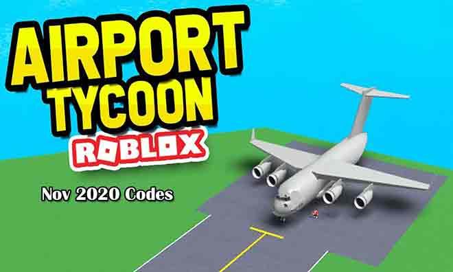 Коды Roblox Airport Tycoon (ноябрь 2020 г.)