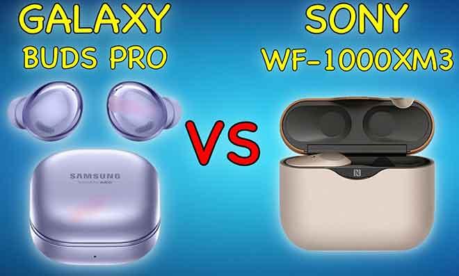Samsung Galaxy Buds Pro против Sony WH-1000 XM 3: какие беспроводные наушники лучше